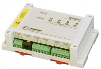 TCW241 - Ethernet Digital IO, Voltage, Temperature, Humidity Alarm and Control