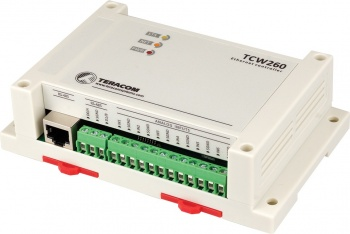 TCW260 - Ethernet Energy Data Logger - Pulse Counting, Analogue In, RS485