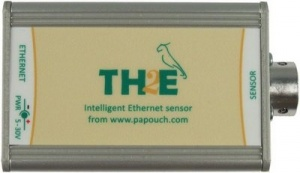 TH2E - Ethernet Temperature and Humidity Unit with Web, email and SNMP