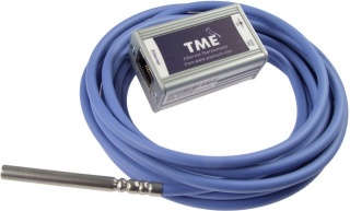 TME - Ethernet Thermometer with Web Server, SNMP and email Alarms