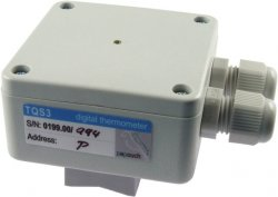 TQS3-P MODBUS RS485 Thermometer for Pipe Fitting