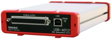 USB-AD14f - USB 20kHz 16 Channel Data Acquisition Unit
