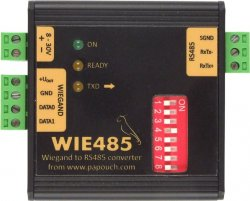 WIE485 - Wiegand to RS485 Converter