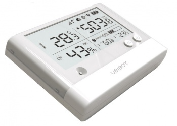 WS1-PRO-GSM - WiFi and 3G, 4G GSM Temperature, Humidity, Light Sensor - Cloud Data Logger with LCD