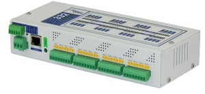 X-332-24I Ethernet Advanced I/O Controller with Calender Scheduling, Web, SNMP, Modbus