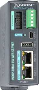 X600M - Web-Enabled I/O Controller